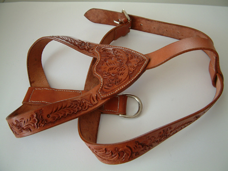 DOG WALKING HARNESS EMBOSSED
