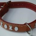 Dog Collar Oval Studs
