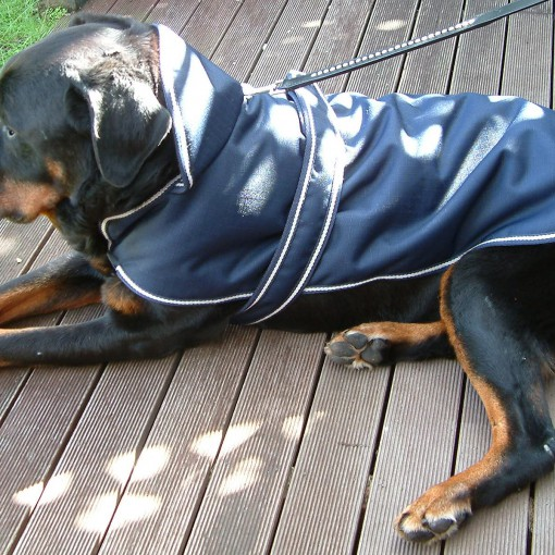 Dog Jacket Water Proof Hooded Large 65