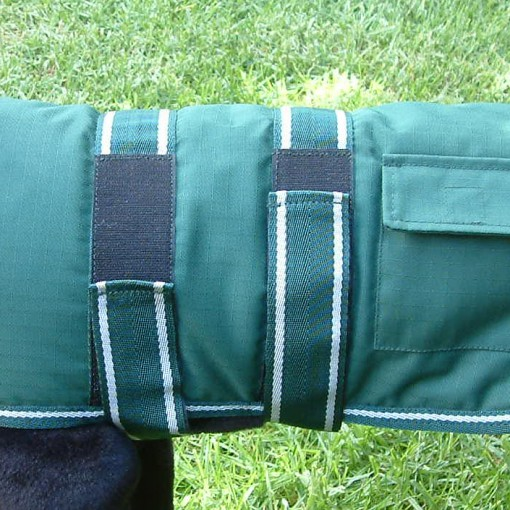 Dog Jacket Water Proof Medium 45 Green