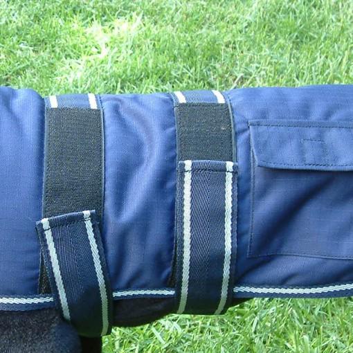 Dog Jacket Water Proof Medium 45 Blue