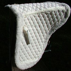 Horse Dressage Numnah Furred
