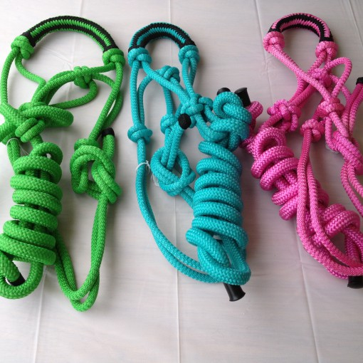 Horse Rope Halter Lead Set