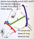 Horse Rope Halter Sizing