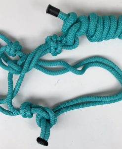 Horse Rope Halter with Padded Nose Bit