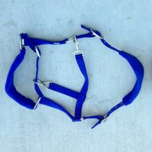 Horse Halter PP Webbing with Padded Supports