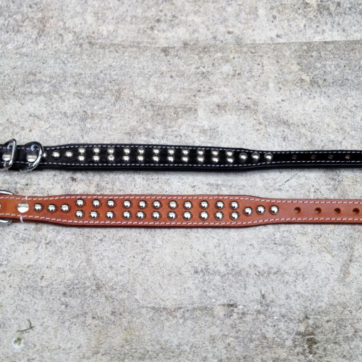 Dog Collar Moon Stud S/M