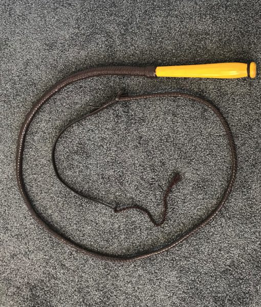BULL WHIP 6 FEET WITH WOODEN HANDLE